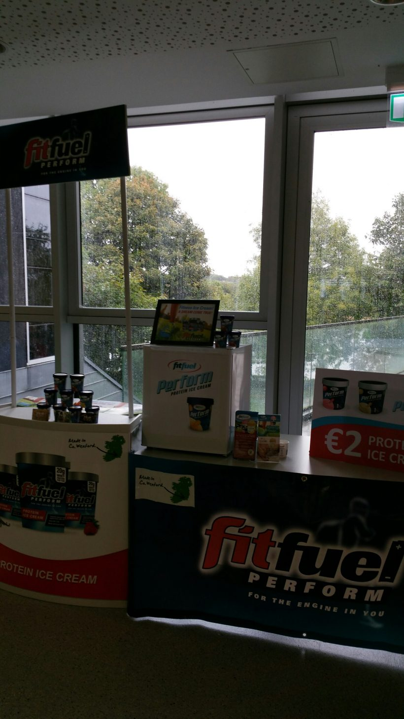 FitFuel Perform Ice Cream – Tasting at NUIG Zinc Cafe